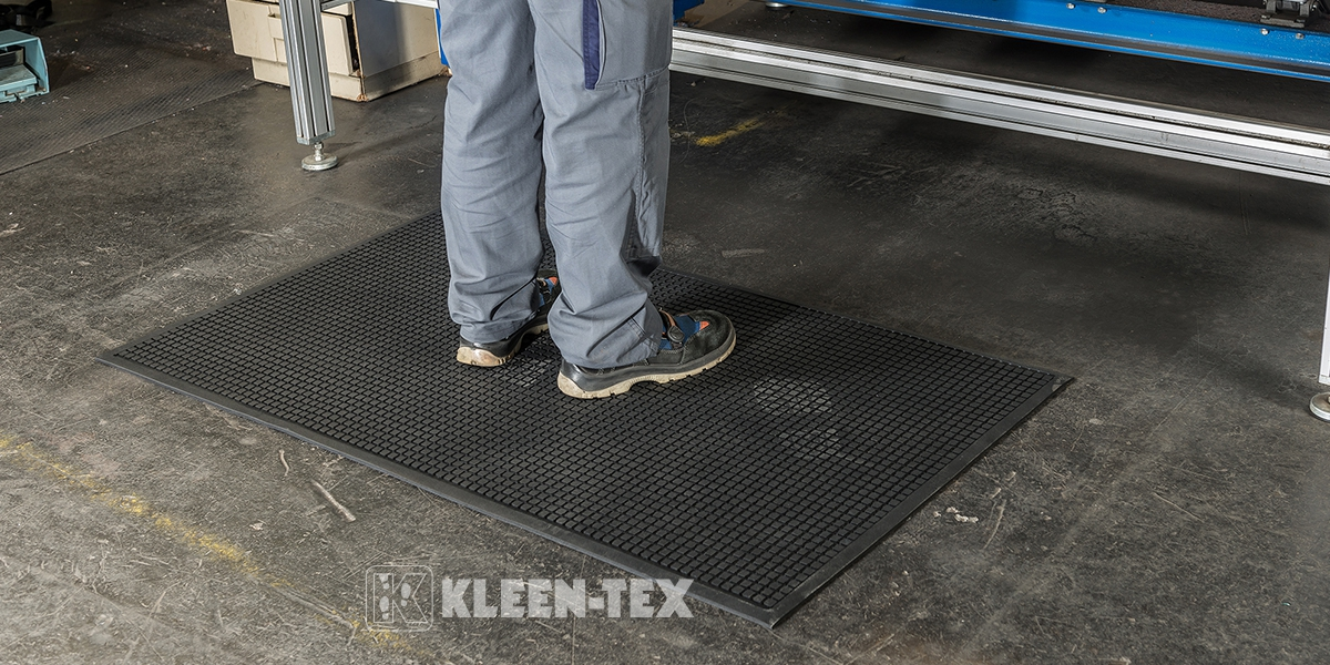 Kleen-Kushion anti-fatigue workplace mat